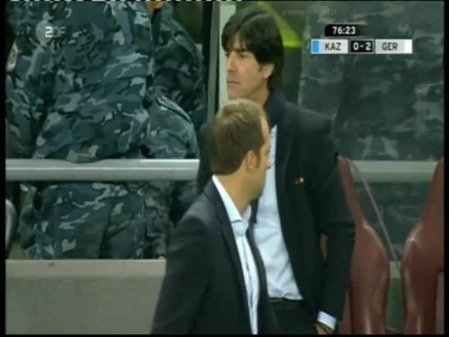 Joachim Löw & Hansi Flick – Kazakhstan v Germany 36