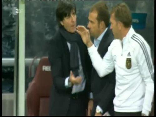 Joachim Löw & Hansi Flick – Kazakhstan v Germany 38