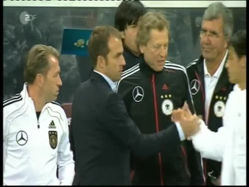 Joachim Löw & Hansi Flick – Kazakhstan v Germany 41