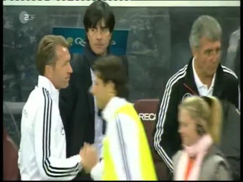 Joachim Löw & Hansi Flick – Kazakhstan v Germany 47