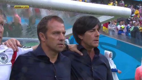 Joachim Löw & Hansi Flick – USA v Germany 2