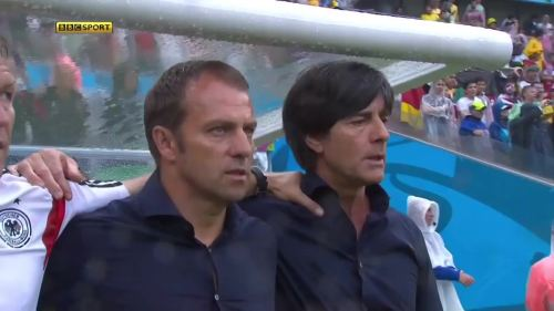 Joachim Löw & Hansi Flick – USA v Germany 2