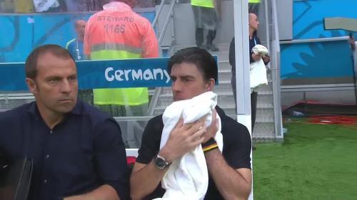Joachim Löw & Hansi Flick – USA v Germany 23