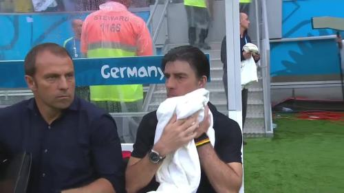 Joachim Löw & Hansi Flick – USA v Germany 23