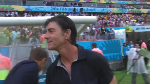 Joachim Löw & Hansi Flick – USA v Germany 28