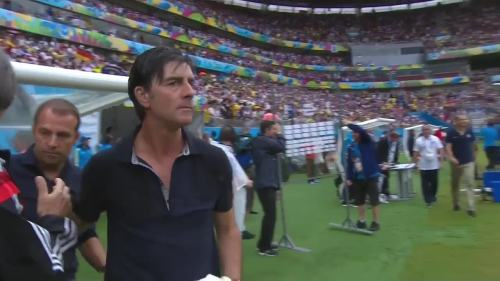 Joachim Löw & Hansi Flick – USA v Germany 31