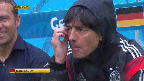 Joachim Löw & Hansi Flick – USA v Germany 4