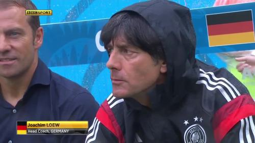 Joachim Löw & Hansi Flick – USA v Germany 5