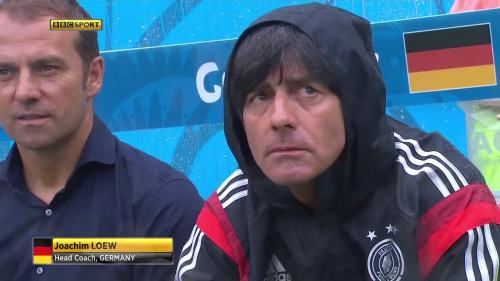 Joachim Löw & Hansi Flick – USA v Germany 6