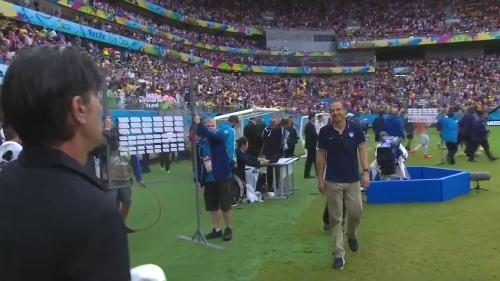 Joachim Löw & Jürgen Klinsmann – USA v Germany 1