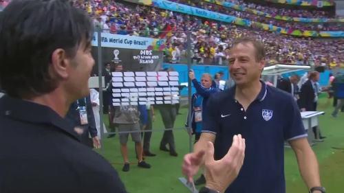 Joachim Löw & Jürgen Klinsmann – USA v Germany 2