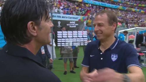 Joachim Löw & Jürgen Klinsmann – USA v Germany 3