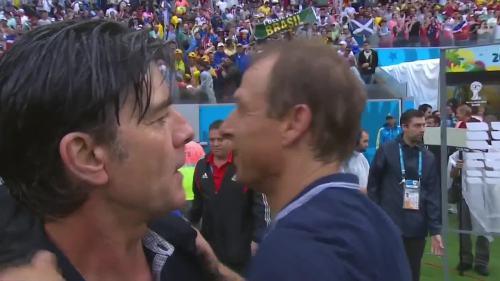 Joachim Löw & Jürgen Klinsmann – USA v Germany 5