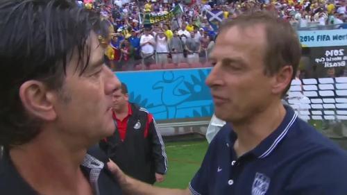 Joachim Löw & Jürgen Klinsmann – USA v Germany 6