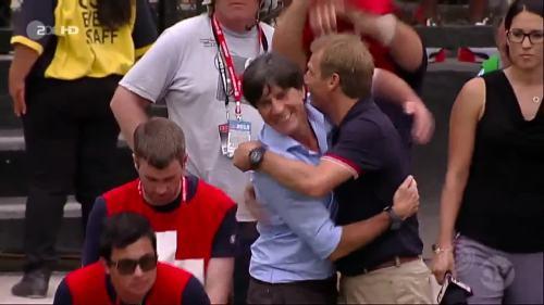 Joachim Löw & Jürgen Klinsmann - USA v Germany 2