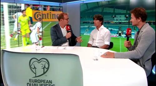 Joachim Löw - Post match interview - Deutschland v Gibraltar 13