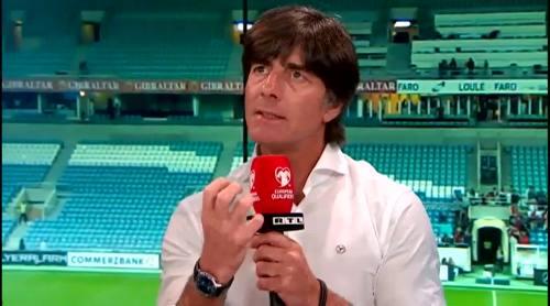 Joachim Löw - Post match interview - Deutschland v Gibraltar 15