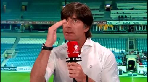 Joachim Löw - Post match interview - Deutschland v Gibraltar 16