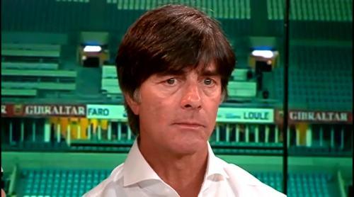 Joachim Löw - Post match interview - Deutschland v Gibraltar 18
