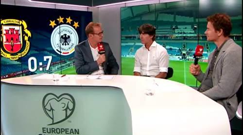 Joachim Löw - Post match interview - Deutschland v Gibraltar 23