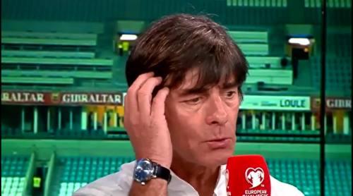 Joachim Löw - Post match interview - Deutschland v Gibraltar 25