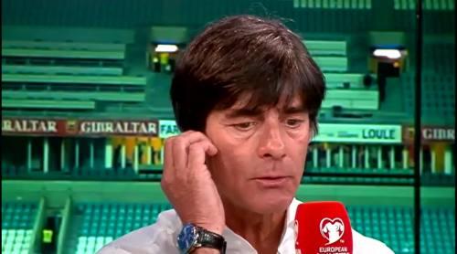 Joachim Löw - Post match interview - Deutschland v Gibraltar 26