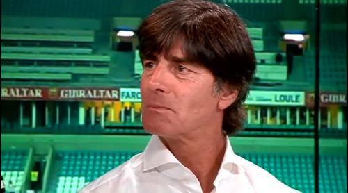 Joachim Löw - Post match interview - Deutschland v Gibraltar 29