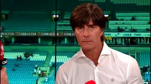 Joachim Löw - Post match interview - Deutschland v Gibraltar 6