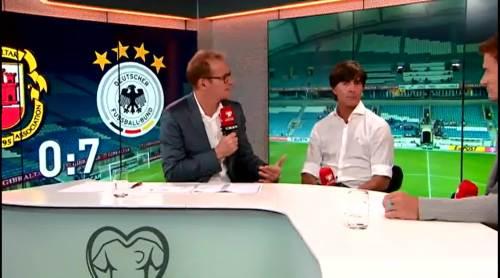 Joachim Löw - Post match interview - Deutschland v Gibraltar 9
