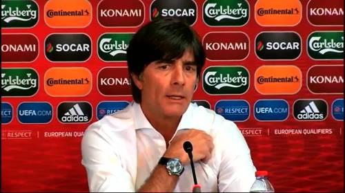 Joachim Löw - Post-match Pressekonferenz - Deutschland v Gibraltar 4