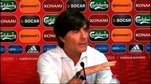 Joachim Löw - Post-match Pressekonferenz - Deutschland v Gibraltar 5
