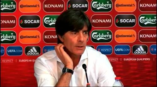 Joachim Löw - Post-match Pressekonferenz - Deutschland v Gibraltar 6