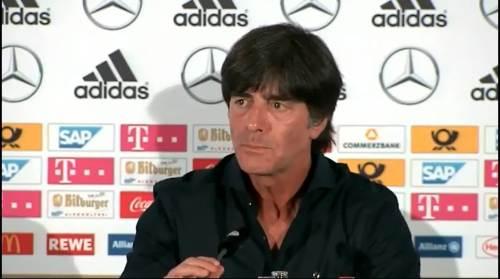 Joachim Löw -Pressekonferenz nach dem Spiel gegen die USA 1