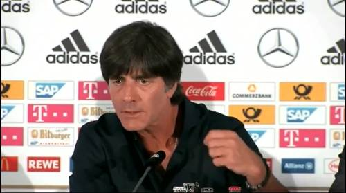 Joachim Löw -Pressekonferenz nach dem Spiel gegen die USA 3