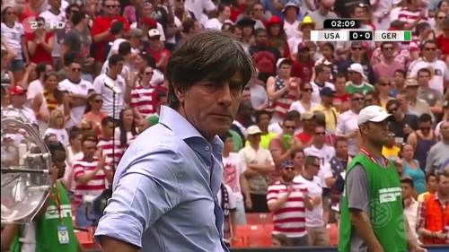 Joachim Löw - USA v Germany 1