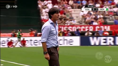 Joachim Löw - USA v Germany 12