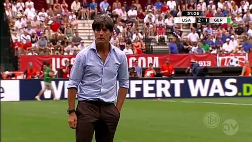 Joachim Löw - USA v Germany 13