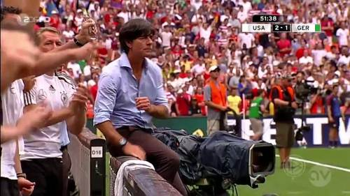 Joachim Löw - USA v Germany 14
