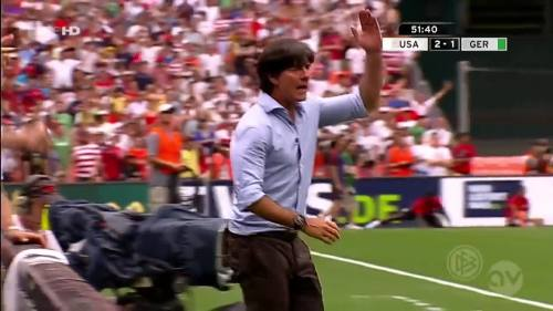 Joachim Löw - USA v Germany 15