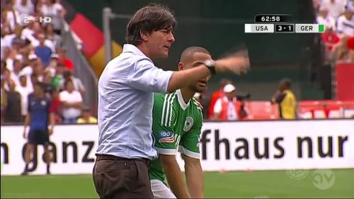 Joachim Löw - USA v Germany 17