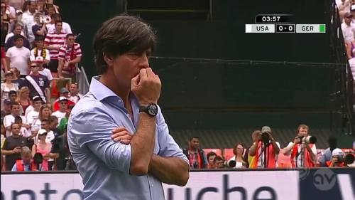 Joachim Löw - USA v Germany 2