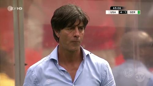 Joachim Löw - USA v Germany 20