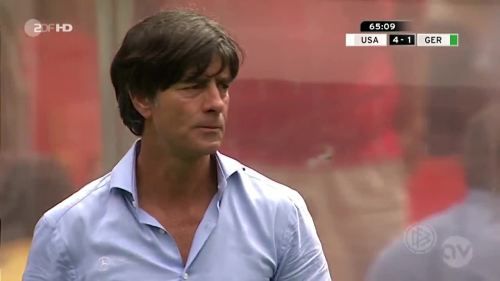 Joachim Löw - USA v Germany 21