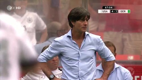 Joachim Löw - USA v Germany 22