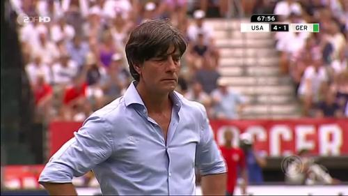 Joachim Löw - USA v Germany 23