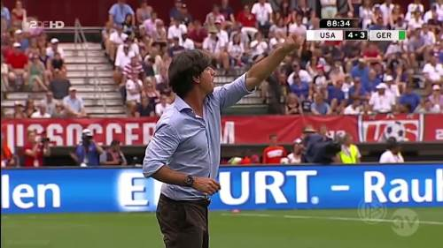 Joachim Löw - USA v Germany 26