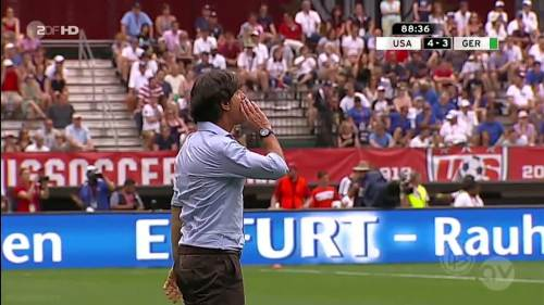 Joachim Löw - USA v Germany 27