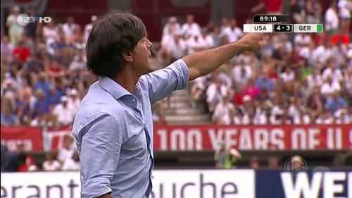Joachim Löw - USA v Germany 28