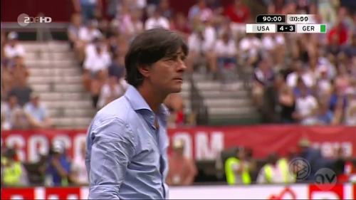 Joachim Löw - USA v Germany 29