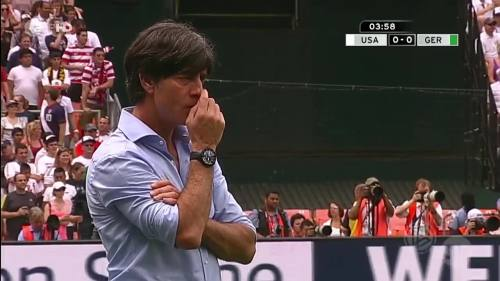 Joachim Löw - USA v Germany 3